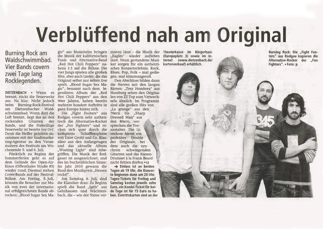 Offenbach Post, 22. Mai 2013