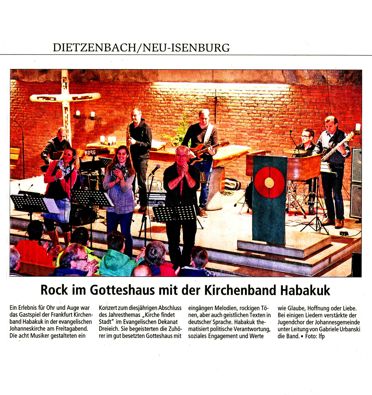 Offenbach Post, 17. November 2014