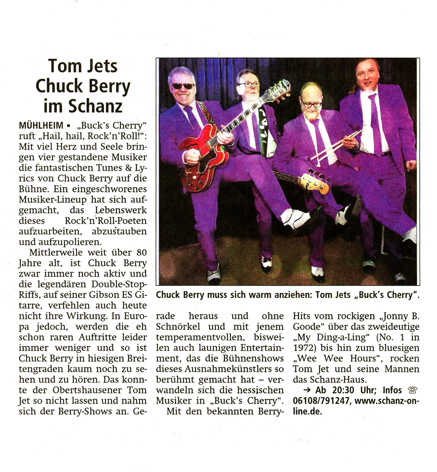 Offenbach Post, 5. Mai 2016