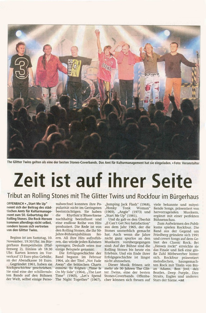 Offenbach Post, 3. November 2012