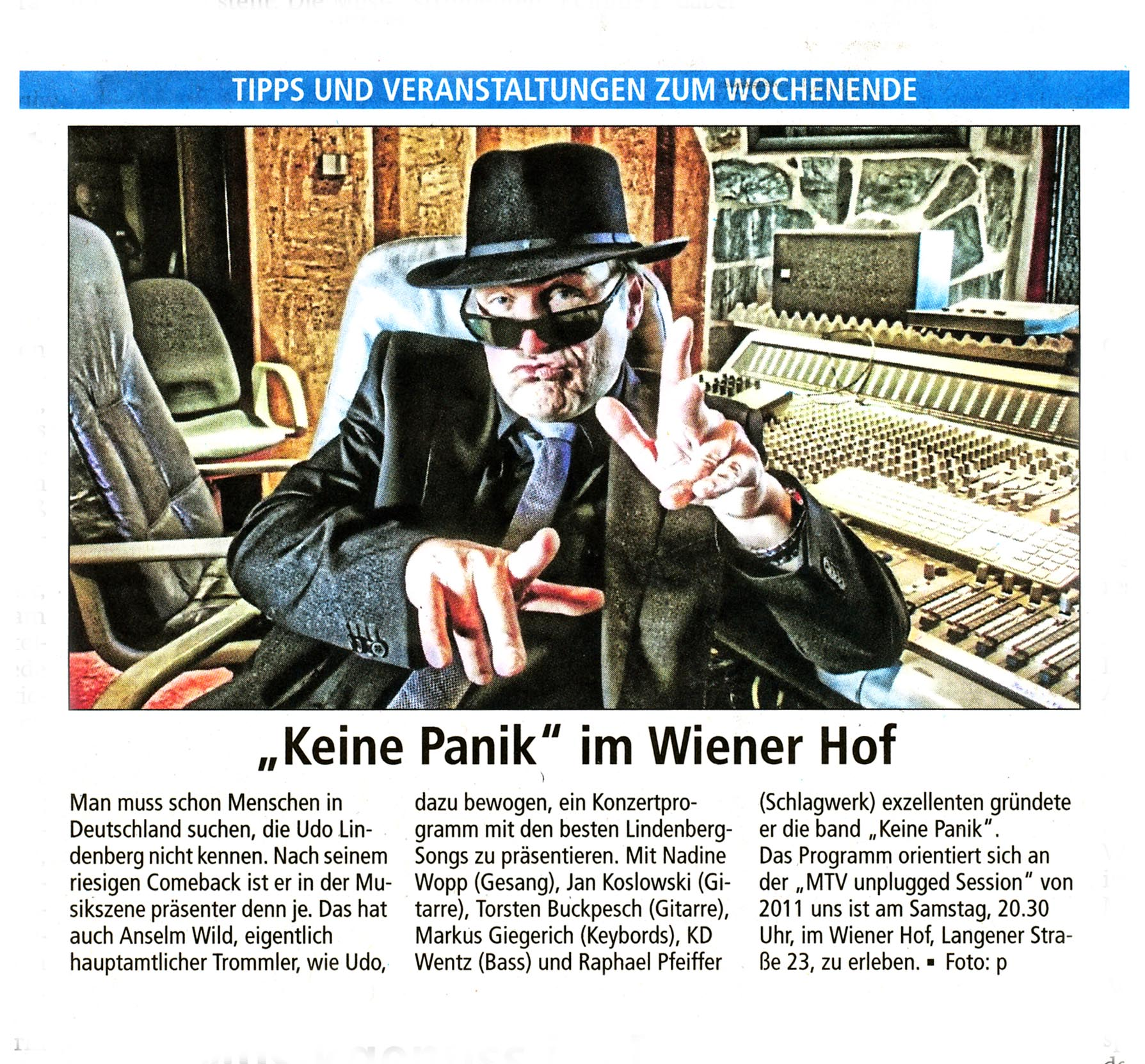 Offenbach Post, 27. April 2018