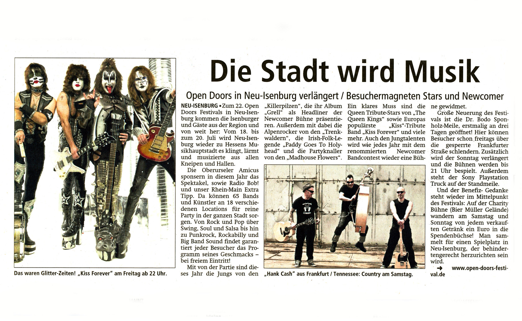 Offenbach Post, 5. Juli 2014