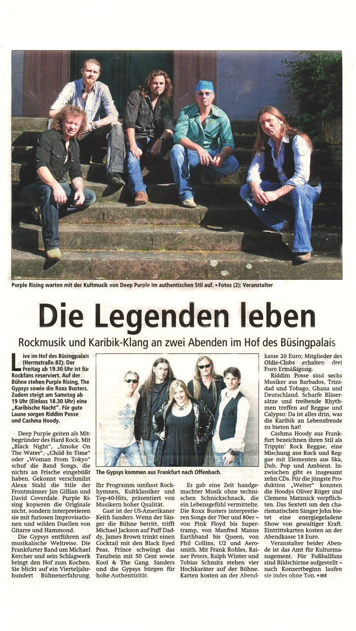 Offenbach Post, 4. Juli 2014