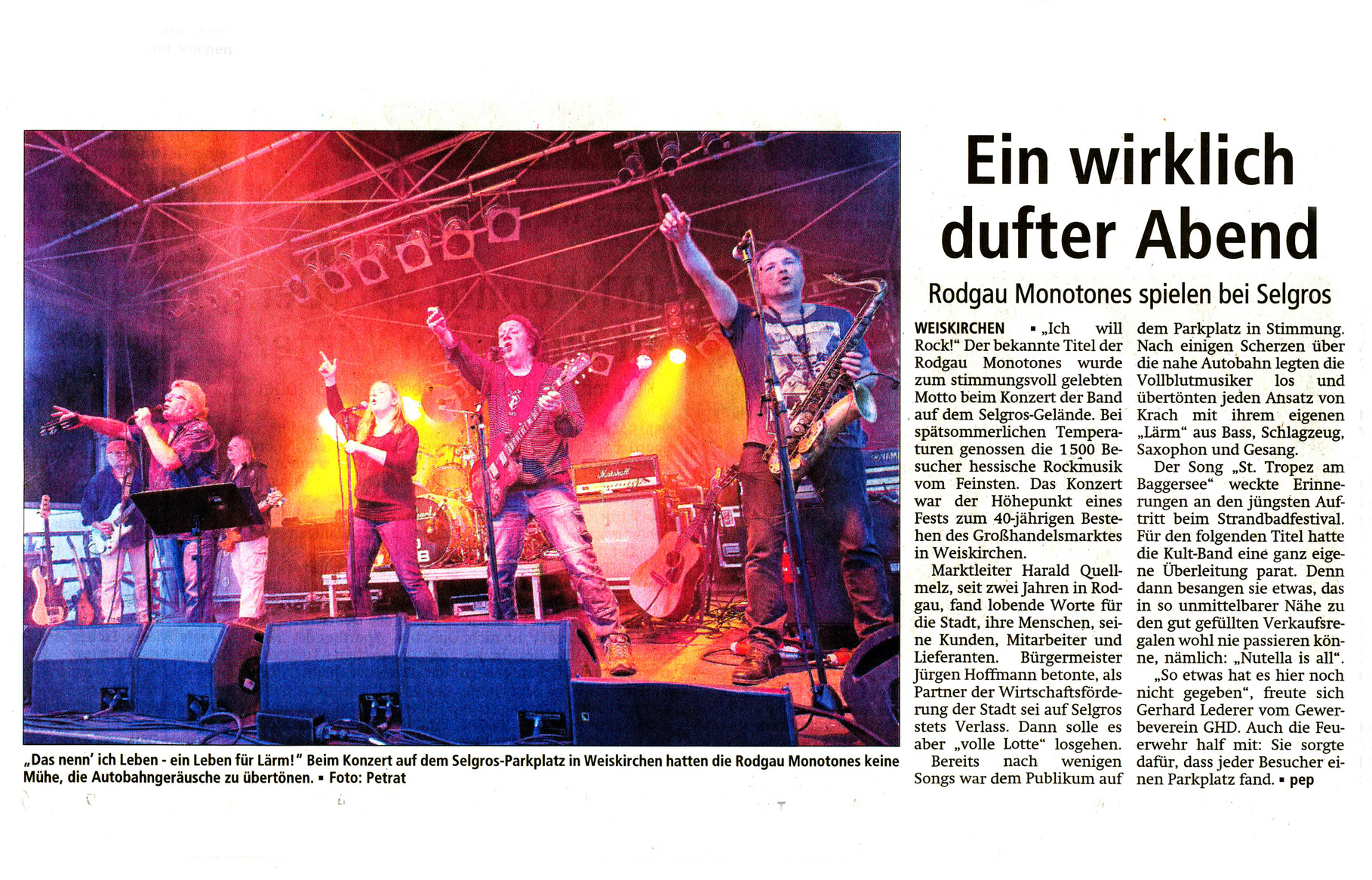 Offenbach Post, 30. September 2014