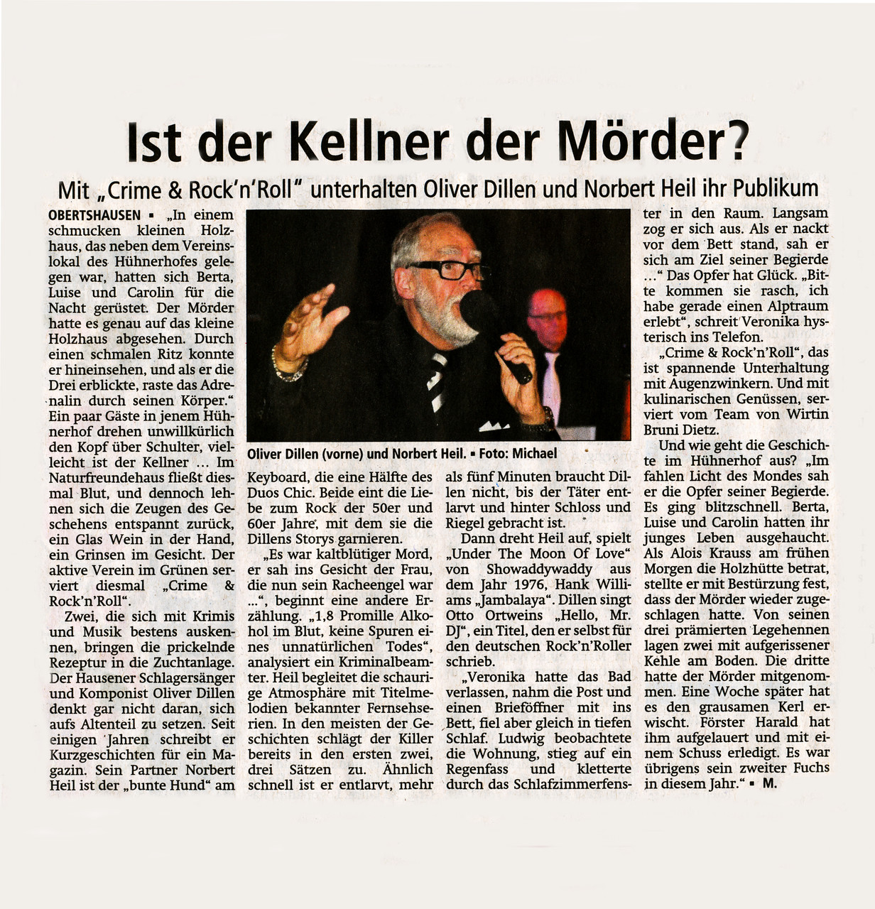 Offenbach Post, 25. April 2015