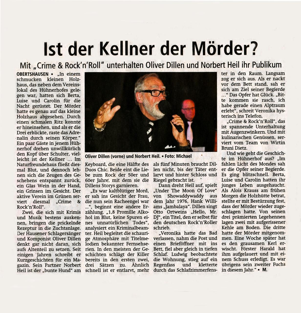 Offenbach Post, 25. April 2015