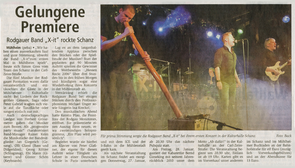 Offenbach Post, 26.01.2011