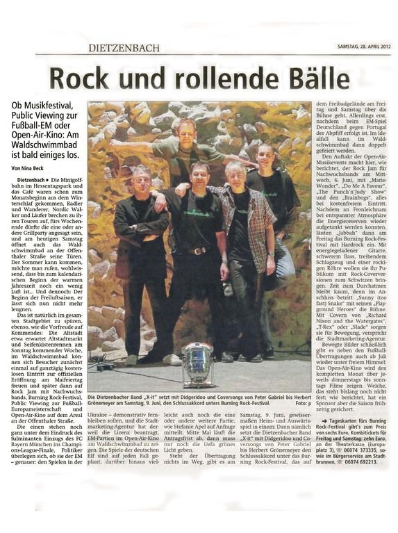Offenbach Post, 28. April 2012