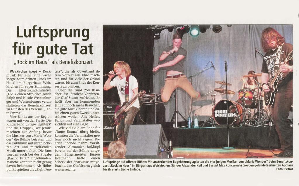 Offenbach Post, 25. April 2012
