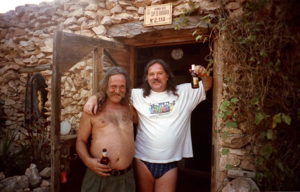 Harry Rothe und Friedel Pfaff