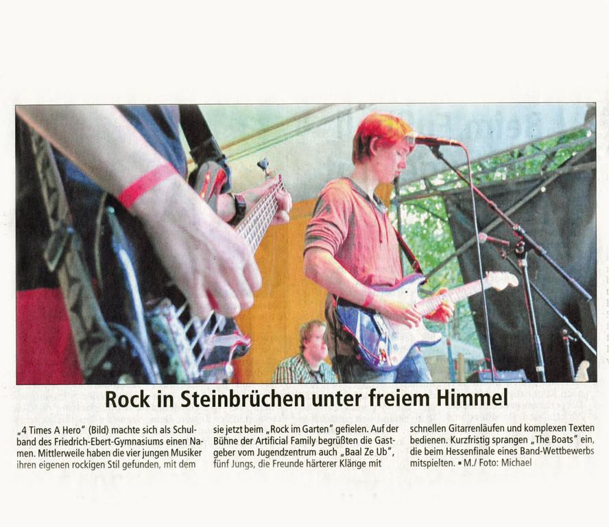 Offenbach Post, 5. Juni 2012