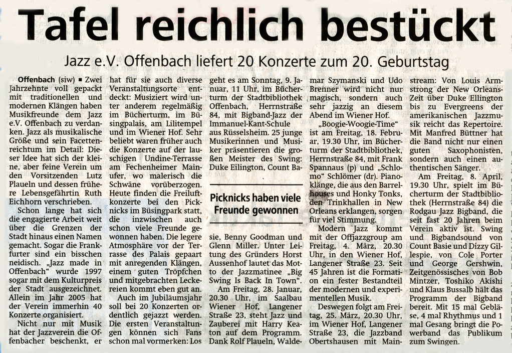 Offenbach Post, 29.12.2010