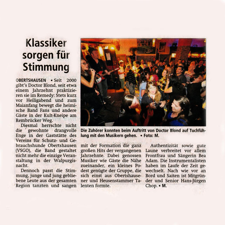 Offenbach Post, 6. Mai 2015