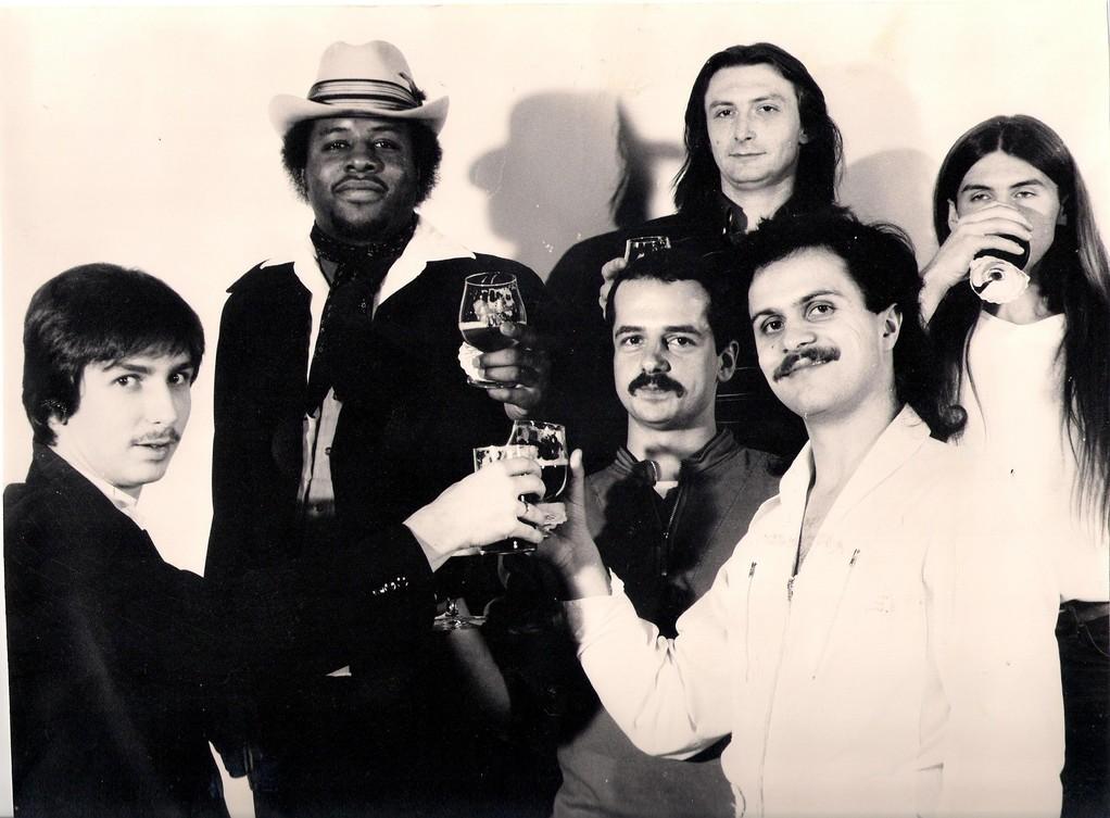 v.l.n.r.: Jo Reitz, Ronny Williams, Roland Henkel, Udo Kistner, Bernd Walter, Rolf Bussalb