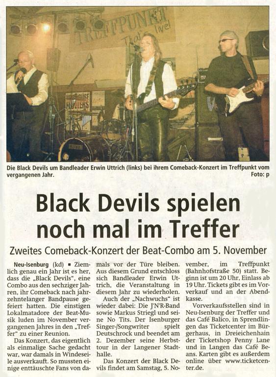 Offenbach Post, 14. Oktober 2011