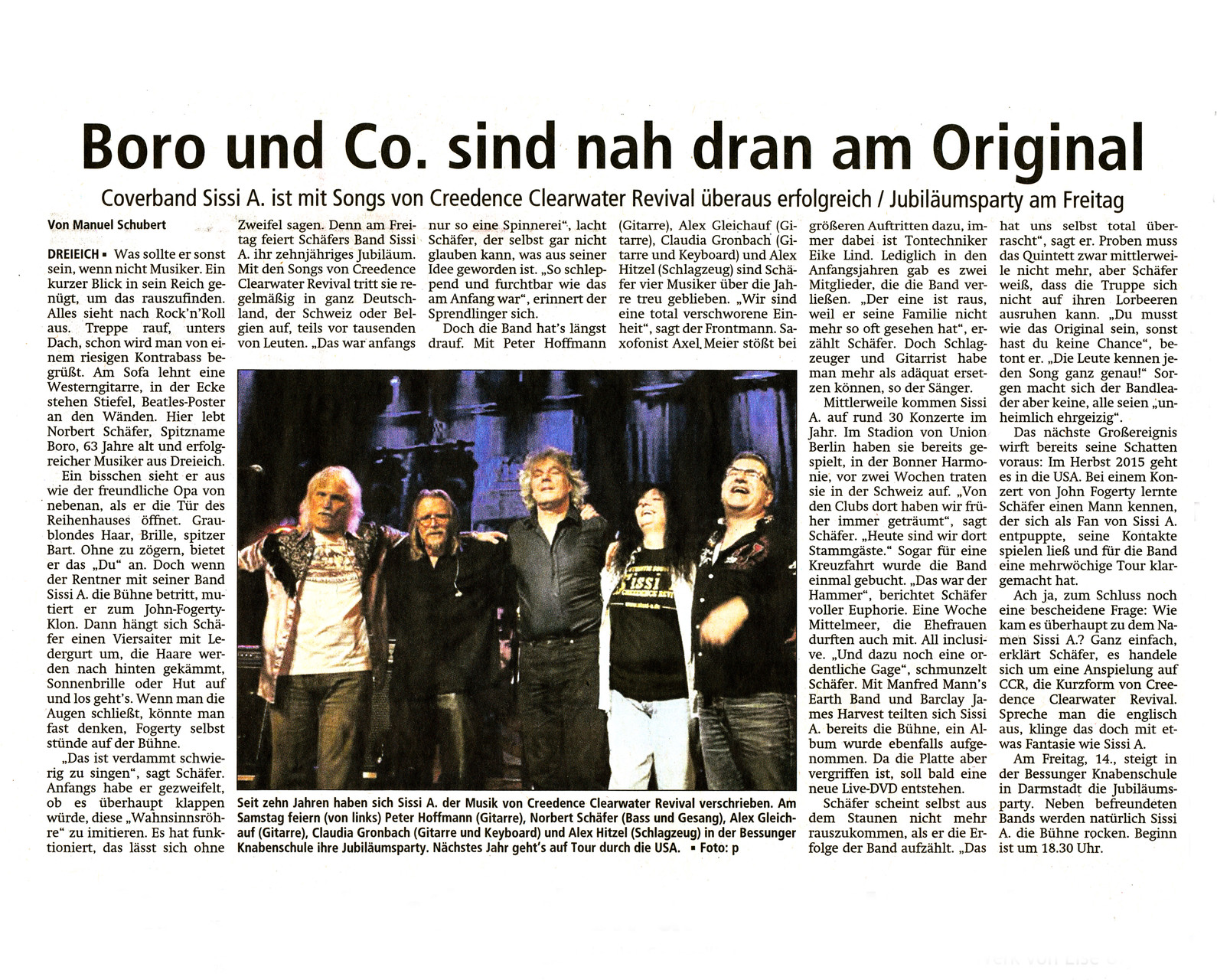 Offenbach Post, 12. November 2014