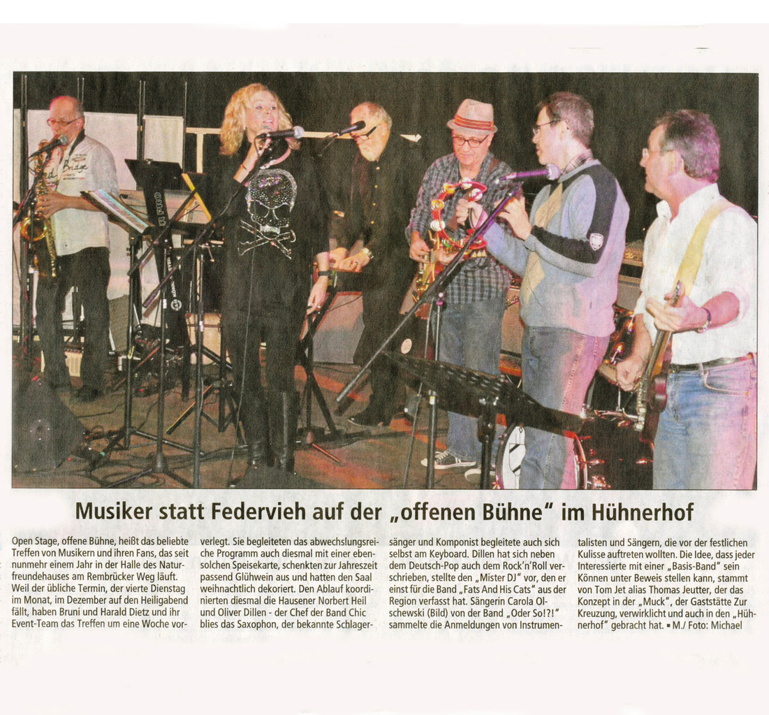 Offenbach Post, 19. Dezember 2013