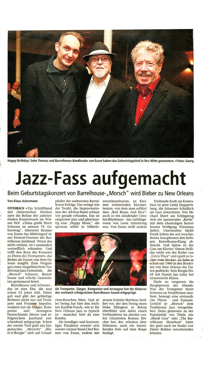 Offenbach Post, 18. Januar 2014