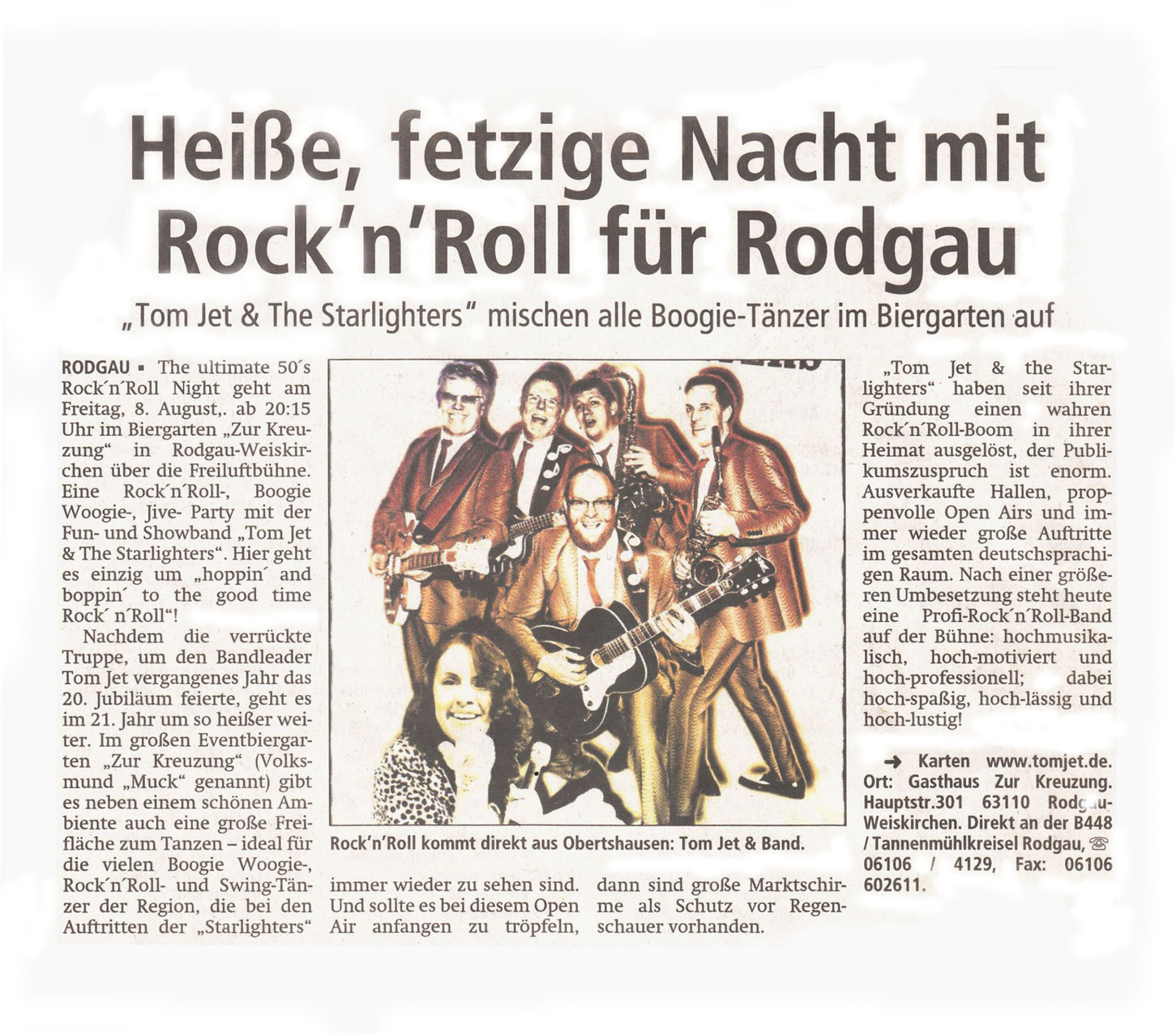 Offenbach Post, Juli 2014