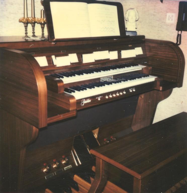 Das Prunkstück der Orgelschule