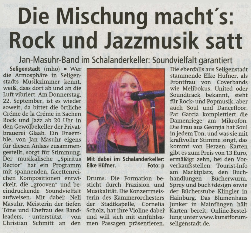 Offenbach Post, 19. September 2011