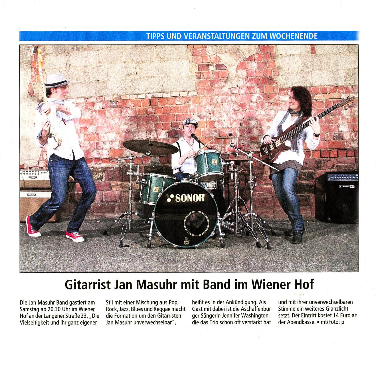 Offenbach Post, 23. Januar 2015
