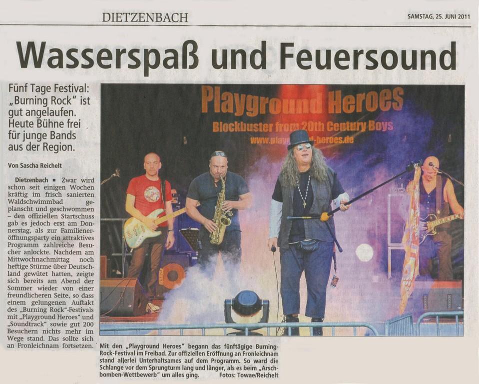 Offenbach Post, 25. Juni 2011 (1)