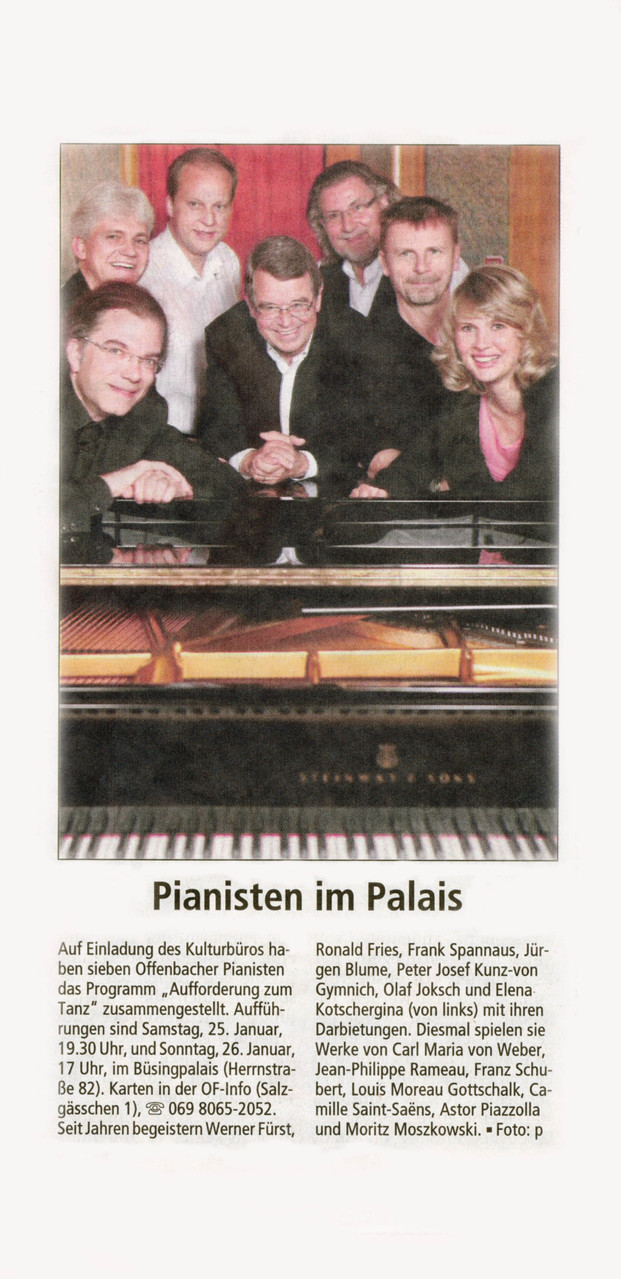 Offenbach Post, 9. Januar 2014