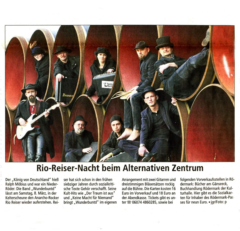 Offenbach Post, 5. März 2014