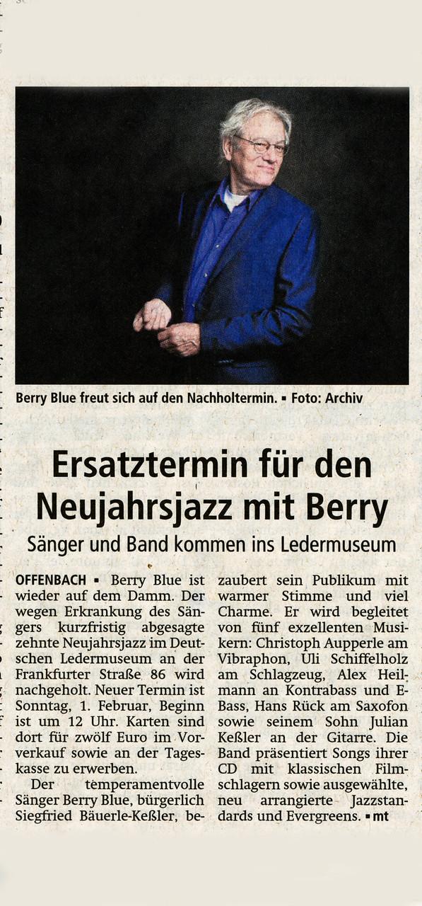 Offenbach Post, 22. Januar 2015