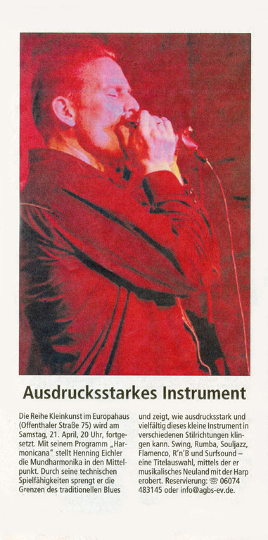 Offenbach Post, 20. April 2012