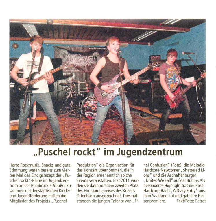Offenbach Post, 13. März 2012