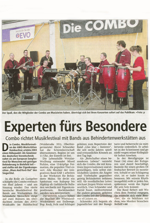 Offenbach Post, 24. August 2012