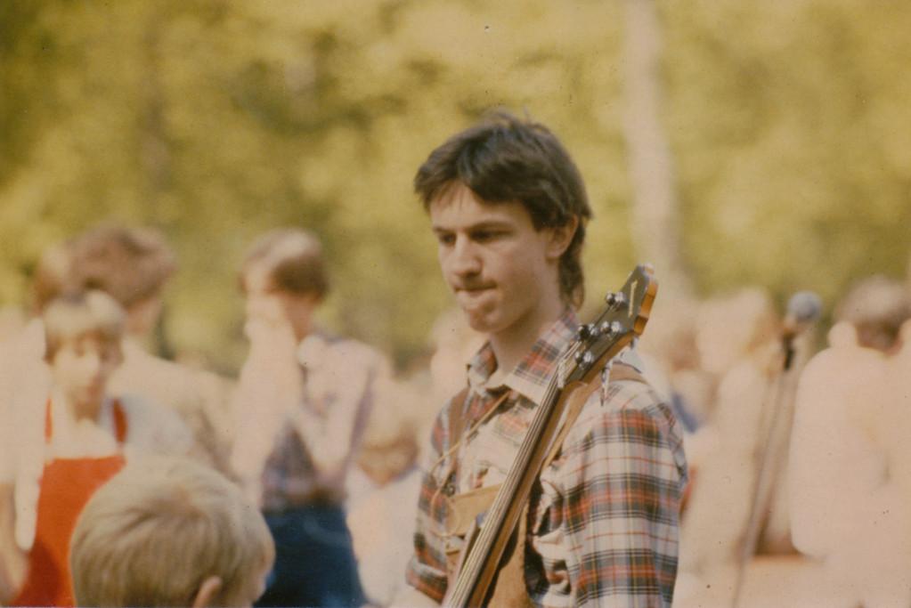 1. Auftritt Waldfreizeitanlage Jügesheim 1979 / Peter Maith