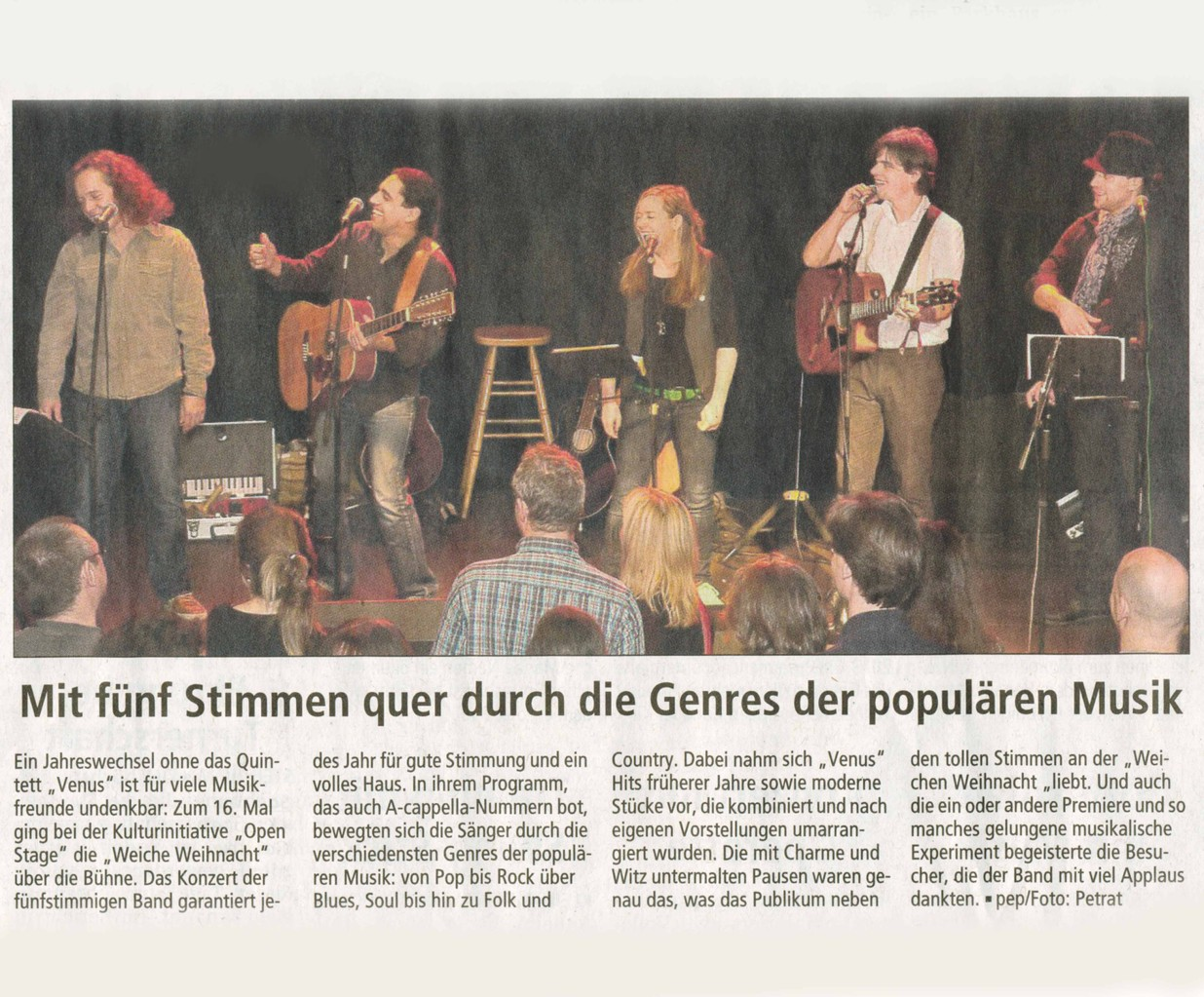 Offenbach Post, 3. Januar 2012