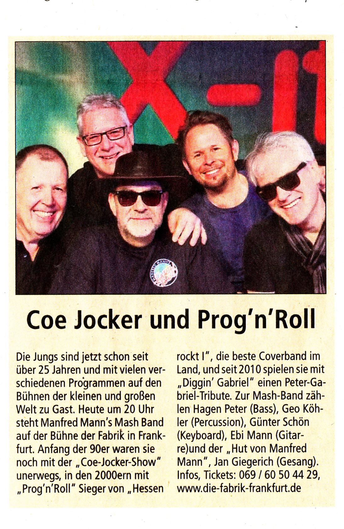 Offenbach Post, 15. Dezember 2018