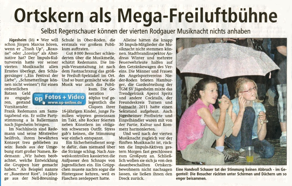 Offenbach Post, August 2011