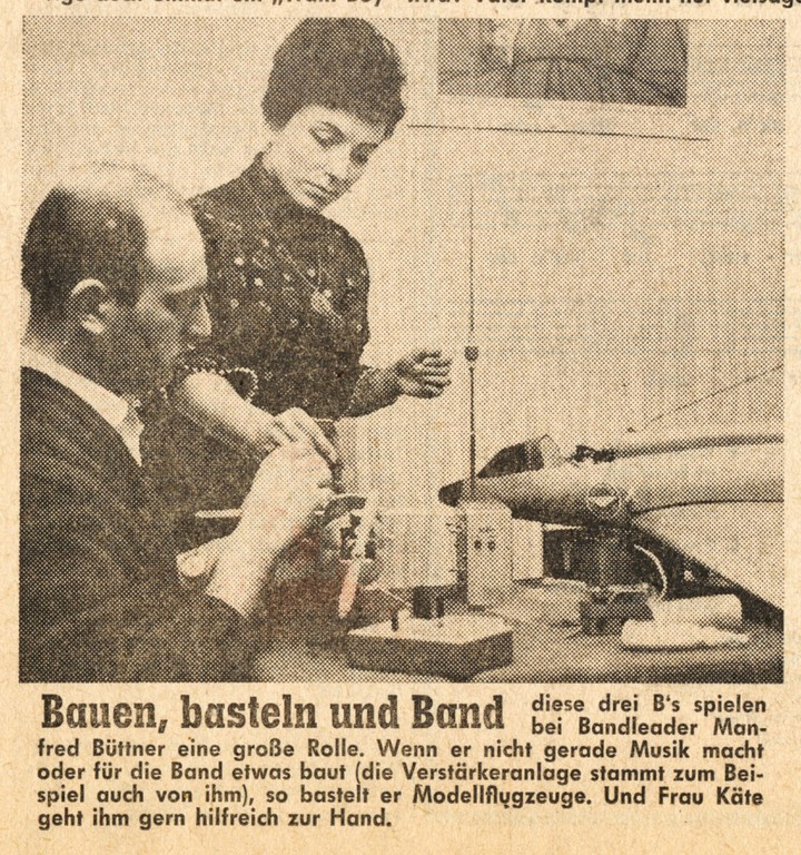 Titelseite Offenbach Post, 1. Februar 1964 (Detail)