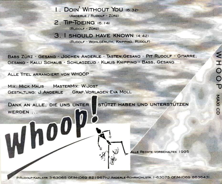 Backcover Maxi-Single (1995)