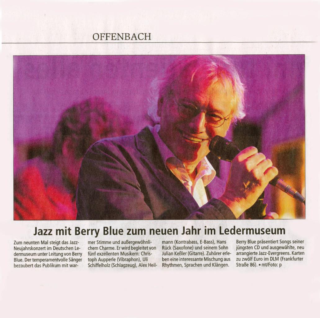 Offenbach Post, 31. Dezember 2013