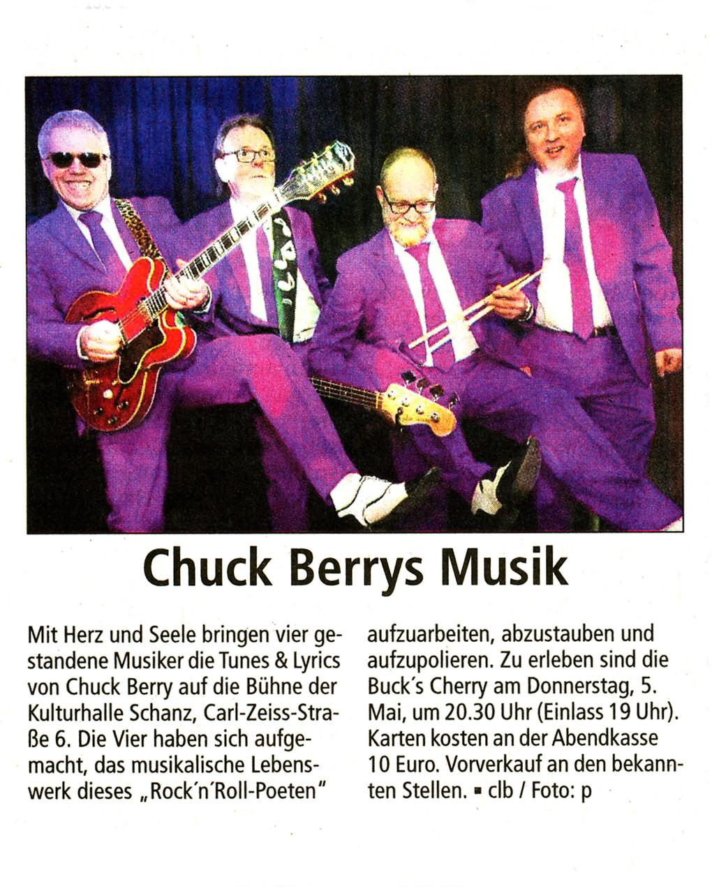 Offenbach Post, 19. April 2016