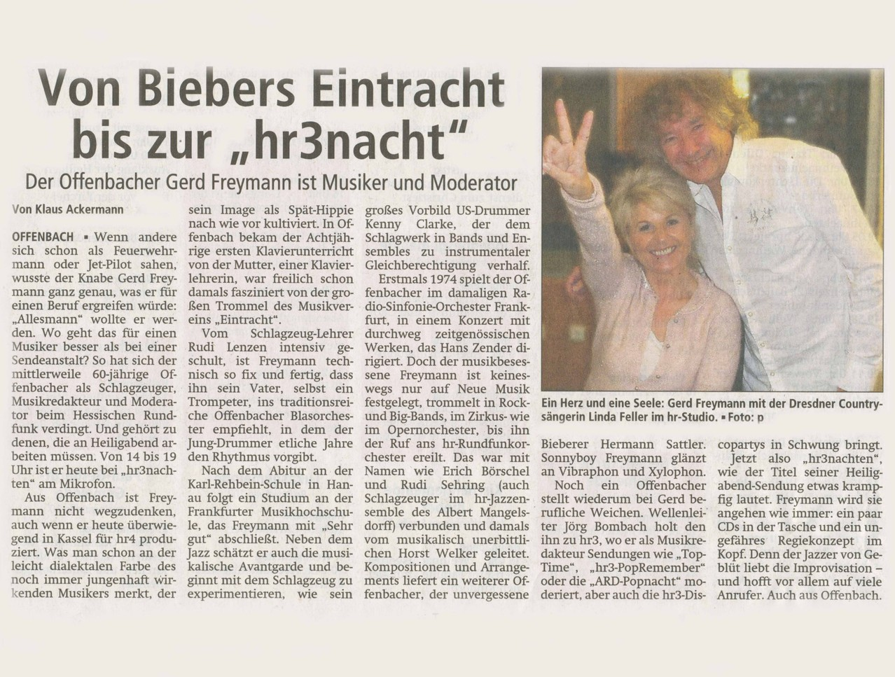 Offenbach Post, Heiligabend 2012