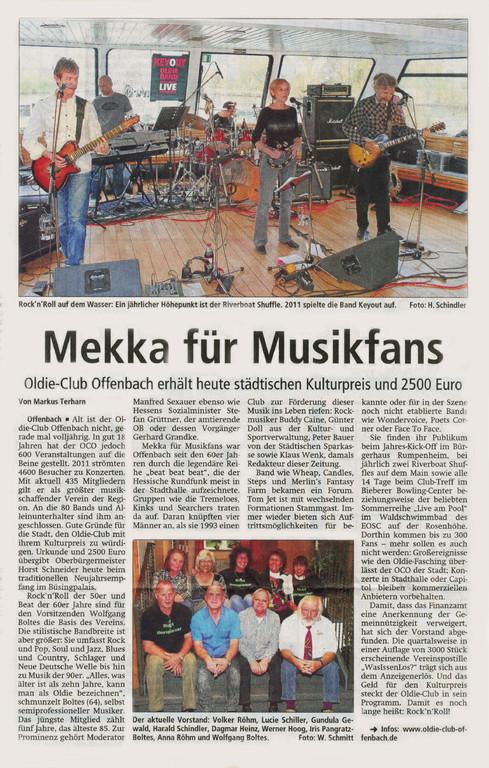 Offenbach Post, 18. Januar 2012