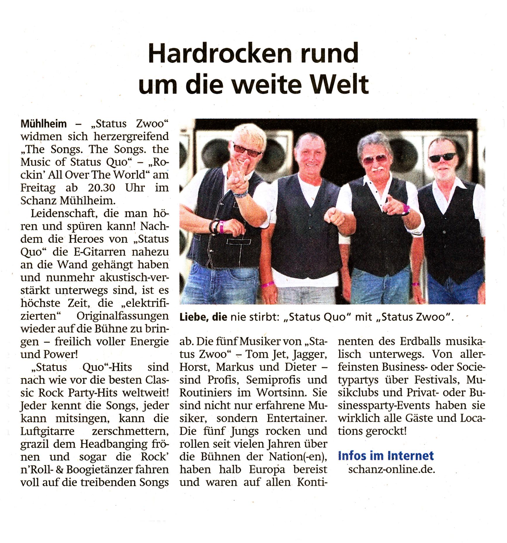 Offenbach Post, 20. Mai 2019