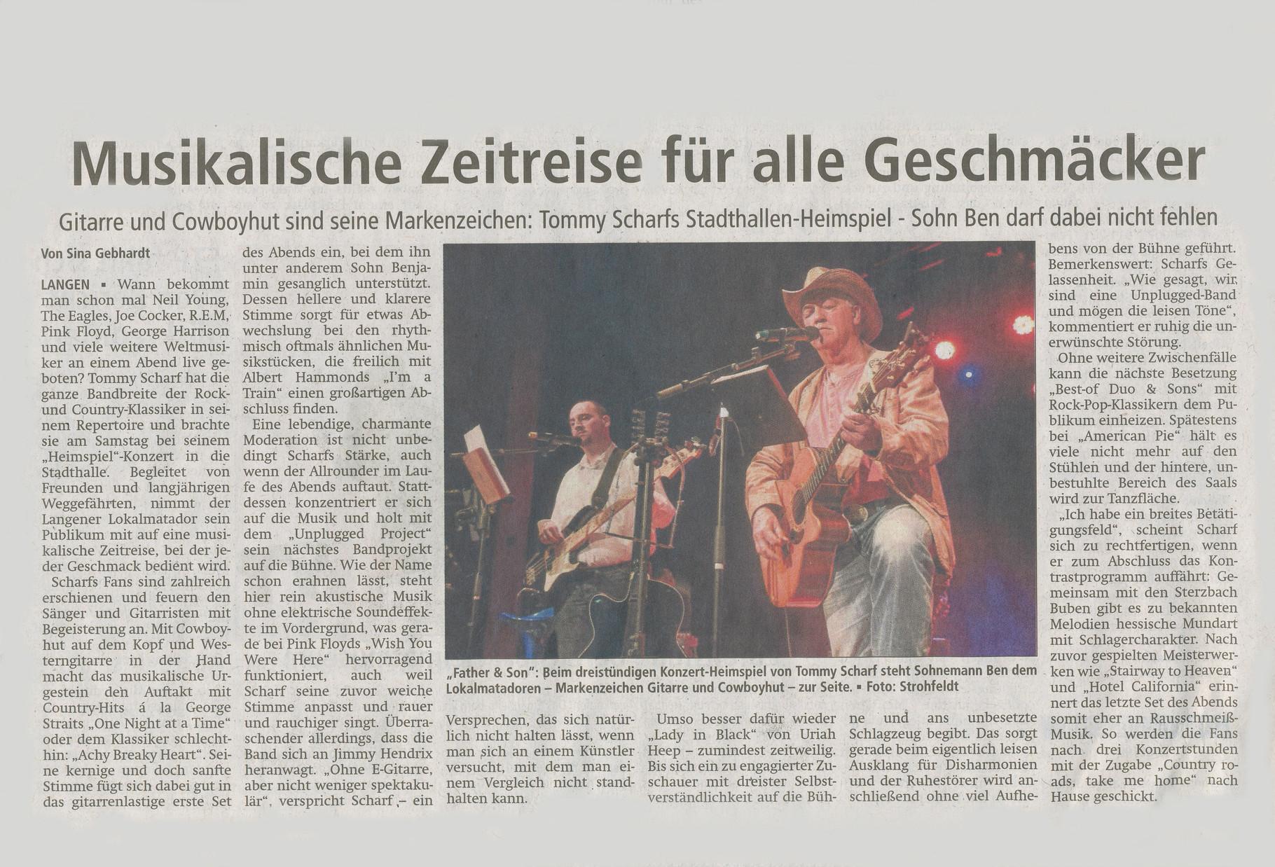 Offenbach Post, 14. März 2016