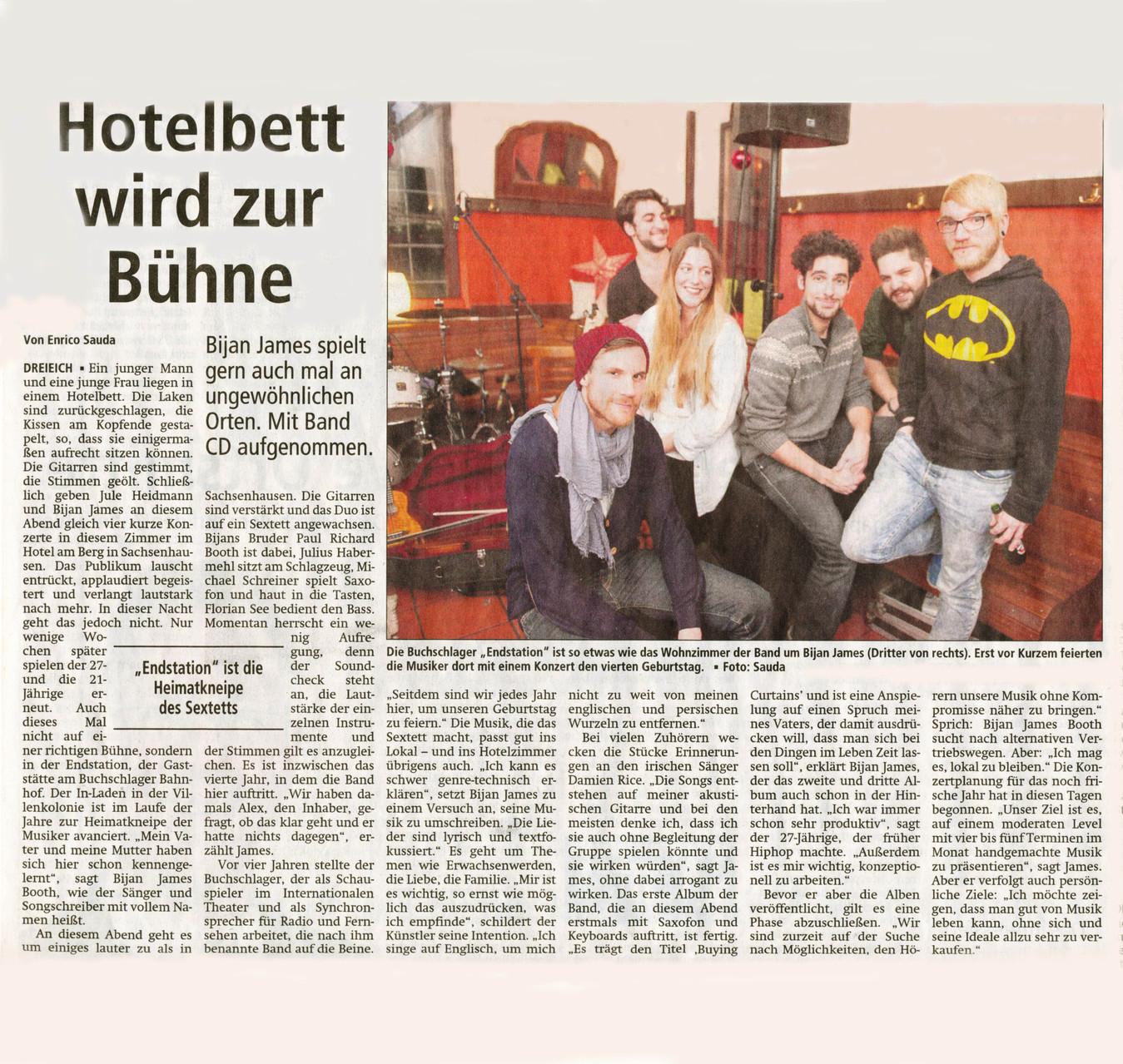 Offenbach Post, 10. Januar 2014