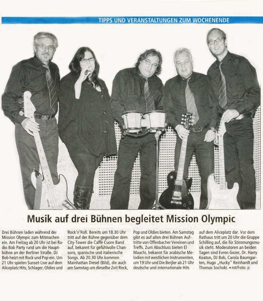 Offenbach Post, 6. September 2013