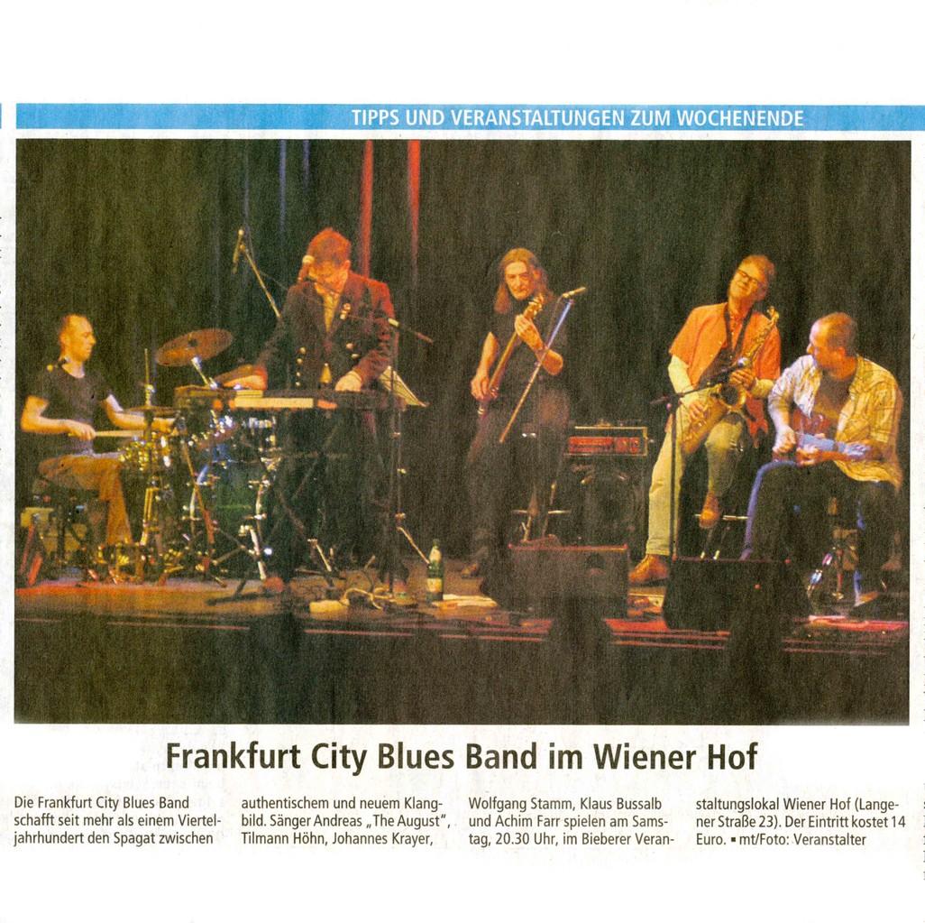Offenbach Post 30. November 2012