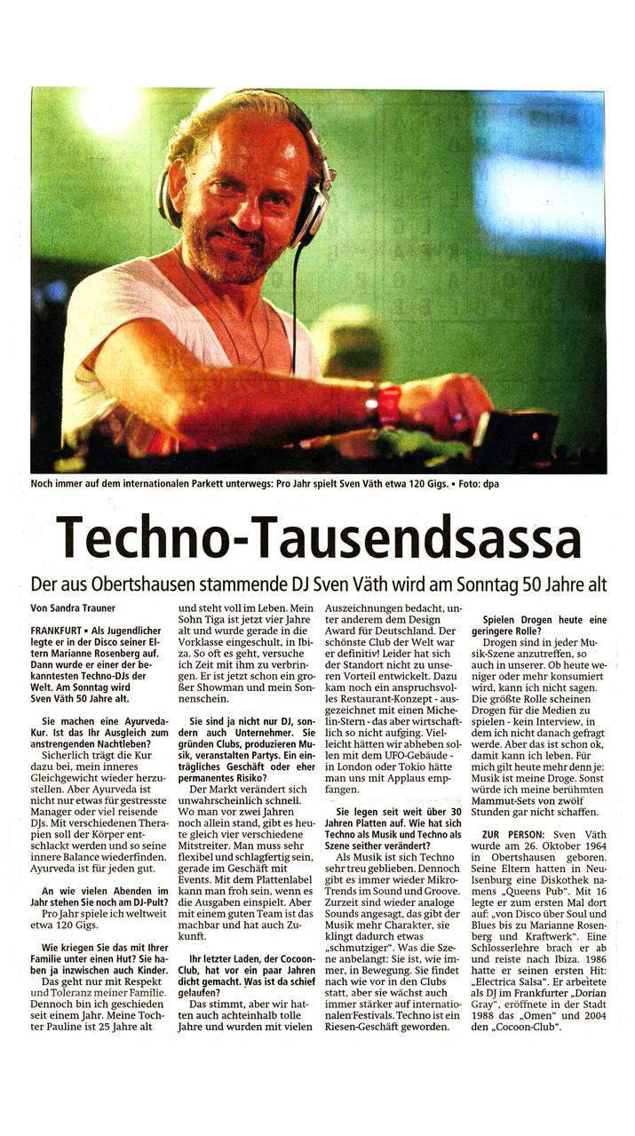 Offenbach Post, 24. Oktober 2014