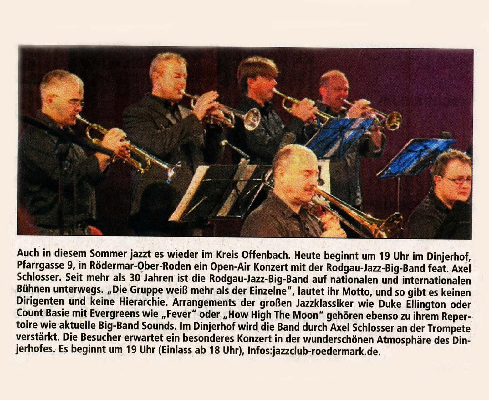 Offenbach Post, 14. Juni 2014